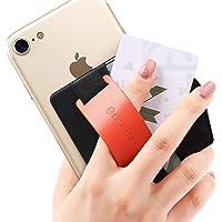 Sinjimoru - Supporto Presa del Telefono con Linguetta, Portafoglio Adesivo per Carte d'identità/IC, utile Supporto in…