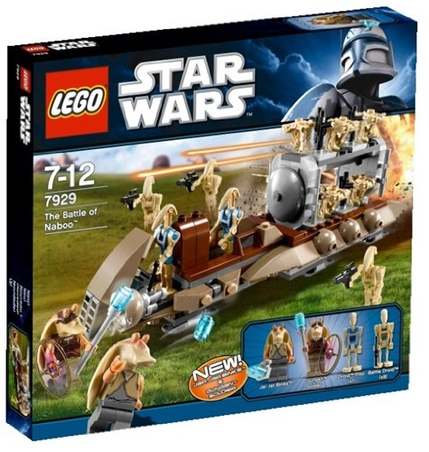 LEGO Star Wars 7929 - The Battle of Naboo (Lego Star Wars Naboo Battle)