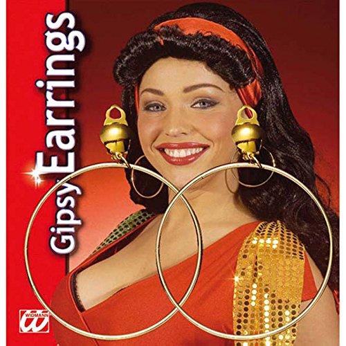Unbekannt Aptafêtes-ac0140-Ohrringe Creolen Hat Clip-Die Paar