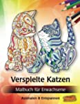 Verspielte Katzen: Malbuch für Erwach...