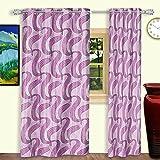 Dreaming Cotton Door Curtain 7ft Pink