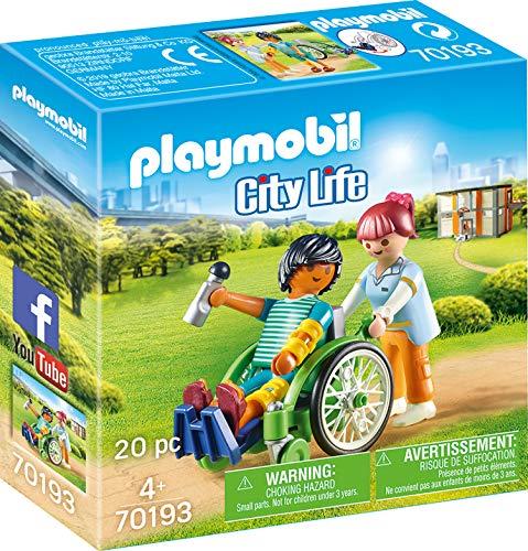 Playmobil City Life 70193 Set de Juguetes - Sets de Juguetes (Acción / Aventura, 4 año(s), Niño/niña, Interior,, Gente)