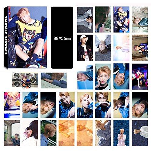 Bellenne 30 Stück BTS Photocard / Fotokarten / Postkarte / Poster, Jungkook, Jimin, V, Suga, Jin, J-Hope, Rap Monster Fanartikel, Sammlung und Beste Geschenk für The Army (H13)