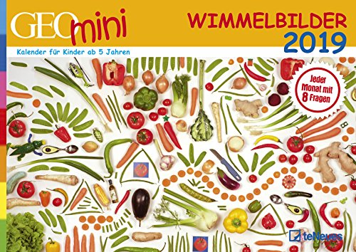 Wimmelbildkalender 2019: GEO Mini