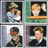 Gibraltar 1018-1021 (completa.edición.) 2002 Henry (sellos para los coleccionistas)