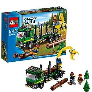 LEGO City Great Vehicles 60059 - Trasportatore di Tronchi 5054230560969 LEGO