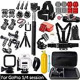 TCCX Sport Action Kamera Zubehör Kit für GoProHero