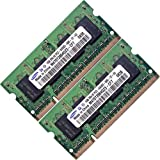 Eurocom 2GB (2x1GB) DDR2-800 PC2 6400 Memory RAM Upgrade Eurocom M Series Laptop