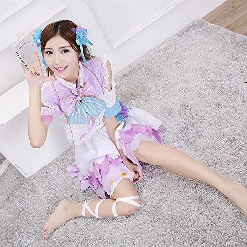 Gorgeous Lovelive Erwachen White Day cosplay Dienstmädchen-Outfit cartoon Halloween-Kostüm kann Zeni Vektor