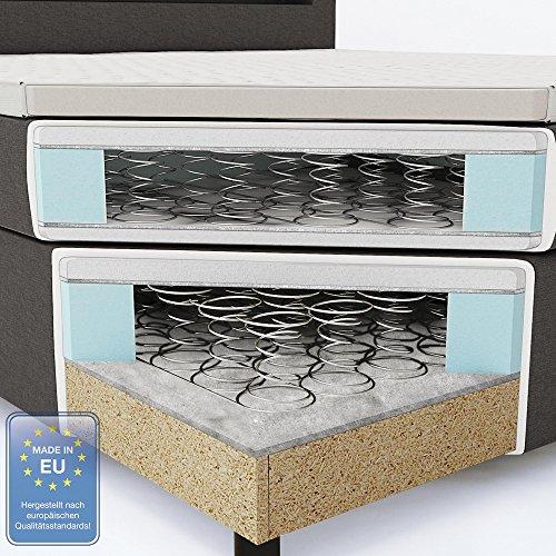 Design Boxspringbett mit LED Beleuchtung Bild 3*