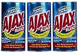 Ajax Puder-Reinigungsmittel, mit Bleichmittel, ca. 14 oz, 3 Stück