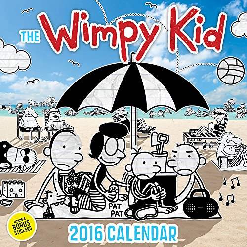 The Wimpy Kid 2016 Illustrated Calendar (Abrams Calendars)