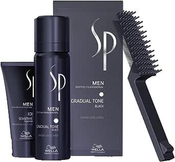 WELLA SP MEN Gradual Tone Black 60ml, più shampoo 30ml