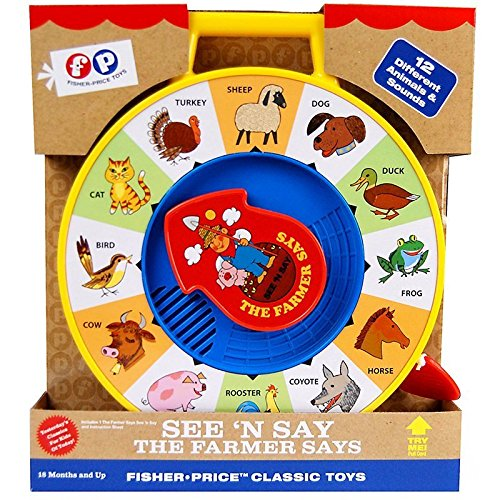 Image of Fisher Price Classics See 'n Say Farmer Says Toy