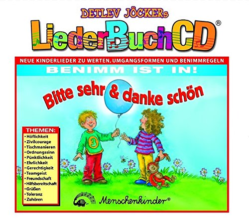 LiederBuchCD: Bitte sehr & danke schön