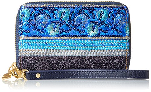 Desigual Mone_nuria Extraordinary Exoti. 5006. U, femme, Bleu (Navy), 2x9.5x14 cm (b x h t)