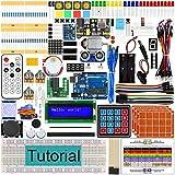 Ultieme Starter Kit met Development Board, 260 pagina's Gedetailleerde Tutorial, 217 artikelen, 51 projecten, Solderless Breadboard