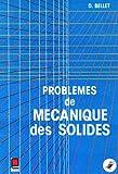 Problèmes de mécanique des solides
