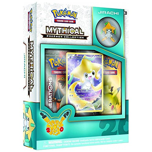 Pokemon Jirachi Mythical Collection