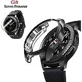 Yaoket Case Compatible per Samsung Galaxy Watch 42mm/46mm, Soft Plated TPU Protective Bumper Case per SM-R805 / SM-R800 /Gear