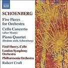 Schoenberg - (5) Orchestral Pieces; Brahms & Monn Transcriptions