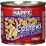 Happy Nuts Cashewkerne geröstet und gesalzen, 150 g