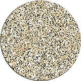 Werzalit Tischplatte Granit rund 80 cm