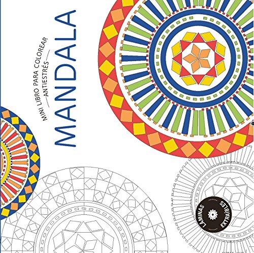 MANDALA: Mini libro antiestrés para colorear (PRACTICA)