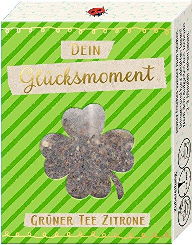 Die Spiegelburg Dein Glücksmoment Tee Grüner Tee Zitrone Pyramiden Teebeutel