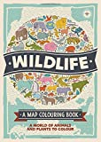 Wildlife: A Map Colouring Book (Map Colouring Books 2)