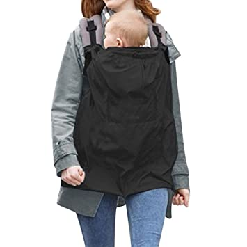 vine baby carrier cover baby sling windproof waterproof rainproof cloak backpack suit seasons amazoncouk baby - Carrier Cover