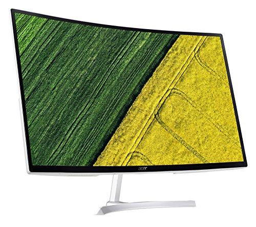 Acer EB321QUR 80 cm (31,5 Zoll WQHD) Curved Monitor (DVI, HDMI, 1 ms Reaktionszeit, 10 Bit Farbtiefe) silber/schwarz - 4