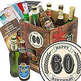 60. Geburtstag | Bier Geschenkbox mit Biersorten der Welt | Bier Geschenk Box mit Bieren der Welt INKL | 6x Geschenk Karten für jeden Anlass + 1x Bier - Bewertungsbogen + 3 Urkunden | Personalisierte Geschenk-Box - 60. Geburtstag | Geschenke zum 60ten Geburtstag Geburtstagsgeschenke zum 60. Geschenke zum 60 Frau Geschenkidee zum 60 Geburtstag Geschenke zum 60. Geburtstag Geschenkidee zum 60. Geburtstag