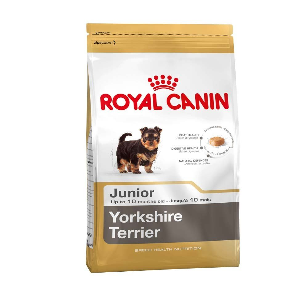 2 X 1.5KG ( 3KG ) ROYAL CANIN YORKSHIRE TERRIER JUNIOR DOG FOOD SUPPLIED BY MALTBY'S STORES