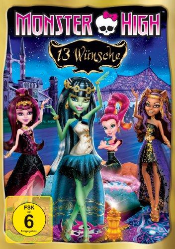 13 Dvd High Monster (Monster High - 13 Wünsche)