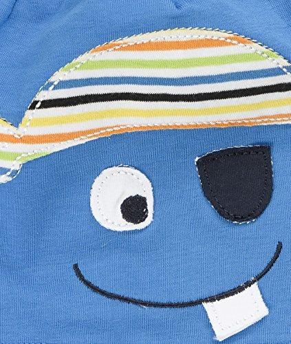 Döll Bohomütze Jersey, Bonnet Garçon Blau (mediterranian blue 3028)