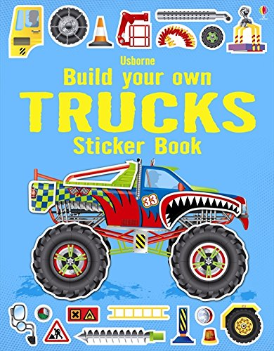 Build Your Own Trucks Sticker Book (Build Your Own Sticker Book)