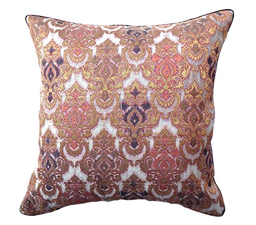the-indian-promenade-16-x-16-inch-chanderi-pure-raw-silk-cushion-cover-beige-black