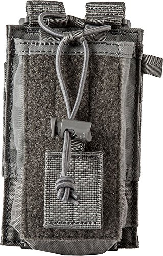 5.11 Tactical Series 511 – 58718 Bolsillo Radio Mixta, 511-58718, Gris Storm, Talla única