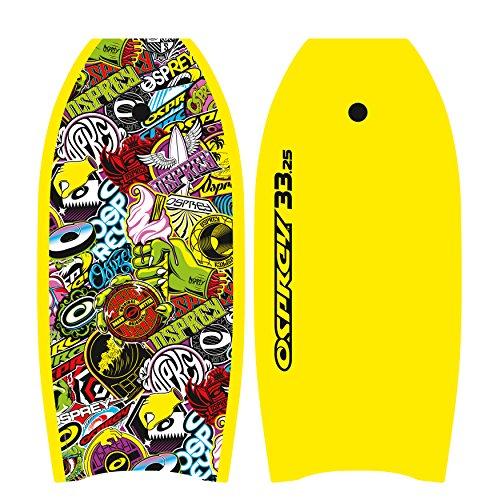 Osprey Bodyboard Stickers, Yellow, 33 Zoll, BGG1401