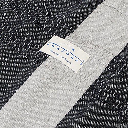 AMAZONAS XXL Komfort Hängematte Paradiso Handgefertigt in Brasilien 250cm x 175cm bis 200kg