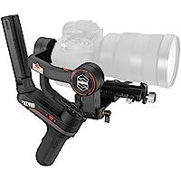 ZHIYUN WEEBILL-S [Ufficiale] Stabilizzatore Gimbal 3 Assi per fotocamere DSLR, fotocamere mirrorless Canon, Sony, Nikon…