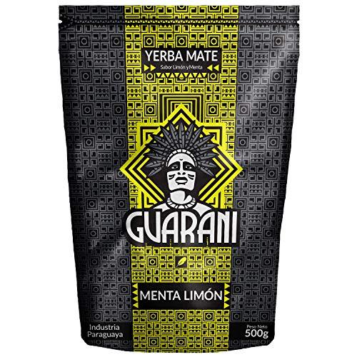 Yerba Mate Menta Limon 500g   Guarani Menta Limon   Yerba Mate...