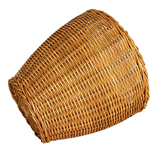 zll/Mini poubelle sur la table en rotin Creative basket. Series Corbeille Panier de rangement sans Cover. barrels. Salon Petit Trash jaune