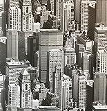 Klebefolie - Möbelfolie Urban Sky Wolkenkratzer- 45 cm x 200 cm Dekorfolie Selbstklebefolie