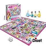Diset - 46583, Il gioco dell'oca (versione principesse Disney)