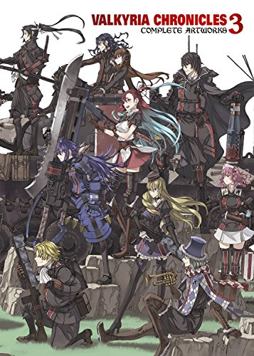 Valkyria Chronicles 3: Complete Artworks por Sega