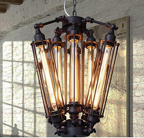 Gowe vintage Suspension industriel Edison lampe American Metal Style RH Loft Café Bar Restaurant de cuisine