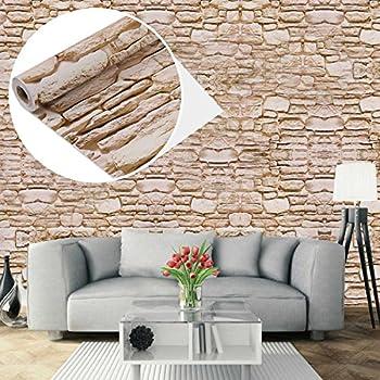 Plastica adesiva effetto finto mattone muro rivestimento - Panel decorativo cocina ...