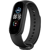 Xiaomi Mi Band 5, Smart Band 5 Global Version, Smartwatch mit Aktivitätsarmband, 2,7 cm (1,1 Zoll), AMOLED-Farbdisplay…
